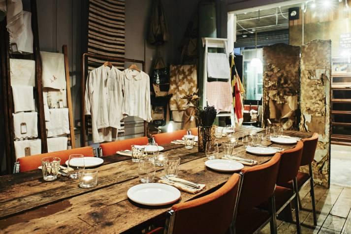 Textile Room chez LASSCO, Londres, pour des soirées privées